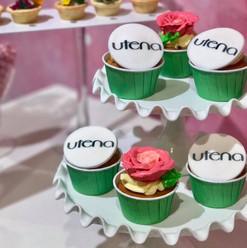 Utena Flower Cupcake