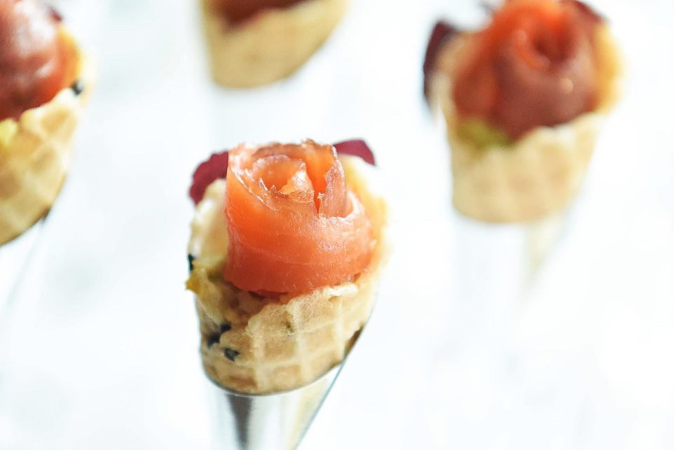Smoked Salmon Mini Cone.JPG