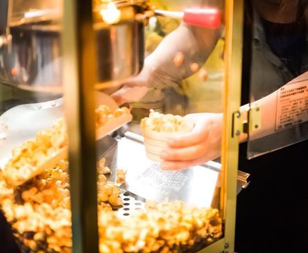 Freshly-made Popcorn