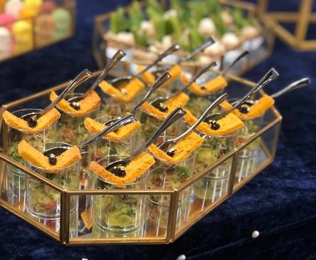 Avocado Sasa Cup w_ Caviar Crispy.JPG