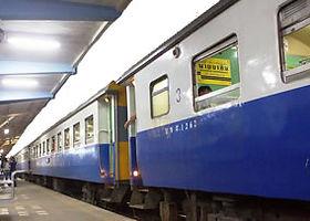 Khao Lak: Mit dem Zug nach Khaolak.