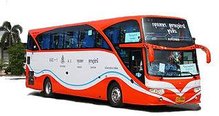 Khao Lak: Mit dem Bus nach Khaolak.