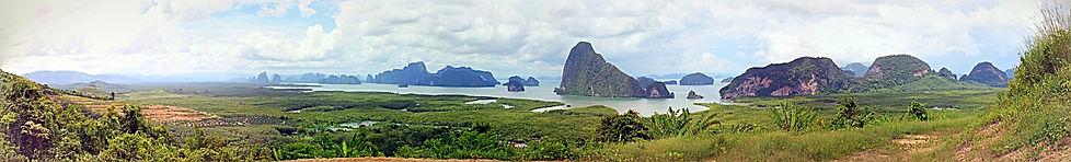 Khao Lak: Phang-Nga Bucht bei Khaolak