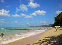Khao Lak: White Sand Beach in Khaolak.