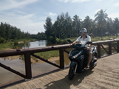 Roller fahren in Khao lak