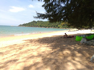 Khao Lak: South Beach in Khaolak.
