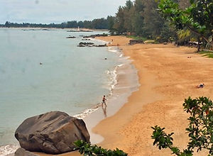 Khao Lak: Sunset Beach in Khaolak.