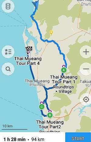 Khao Lak: Thai Mueang Roller Tour in Khaolak.