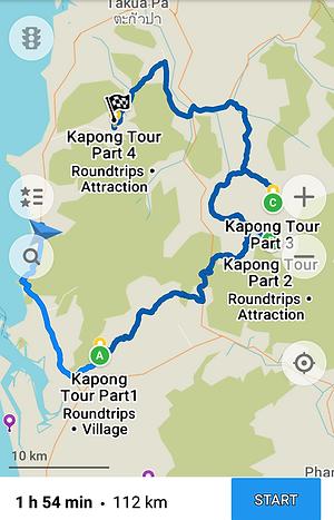 Khao Lak: Kapong Roller Tour in Khaolak.