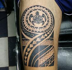 Tattoo Khao Lak, Thailand, Maori Stil