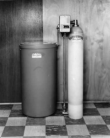 A Water Softener System From the 1960's