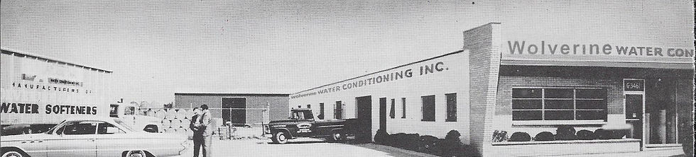 Wolverine Building in the 1950's