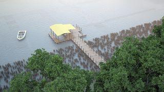 Разработка проектнойдокументациипостроительству пирса и зоны летней стоянки маломерного судна (Ла