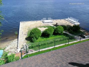 Разработка проектной документации по капитальному ремонту причала на реке Вуокса в Приозерском район