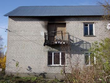 Инструментальное обследование несущих конструкций после пожара: Ленинградская область, Гатчинский ра