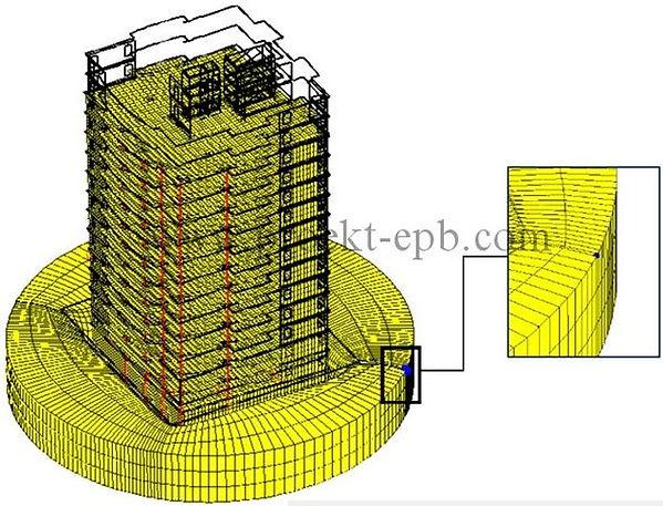 Обследование многоэтажного здания
