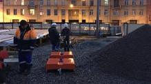 Обследование канализационного коллектора и грунтового основания методом геолокации с выносом проекци