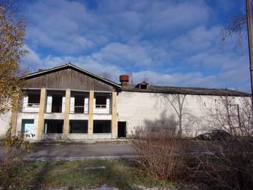 Инструментальное обследование заброшенного дома культуры (ДК), расположенного по адресу: Ленинградск