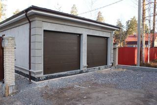 Разработка проектнойдокументация по строительству гаража в поселке Вырица(Ленинградская область).