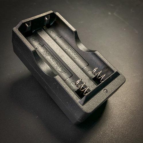 2-Bay 18650 Battery Charger US Plug for Convoy365nm UV Flashlights