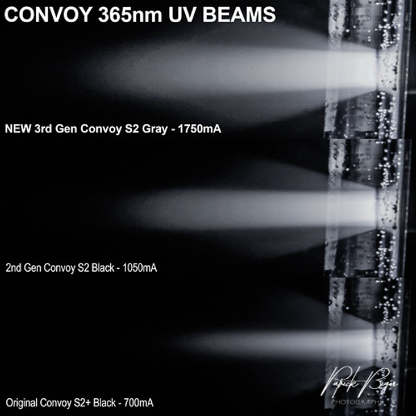 WTC CONVOY S2 7135*5 365nm Longwave UV Flashlight | Midnight Minerals