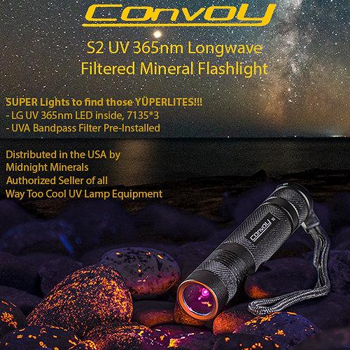 WTC CONVOY S2 7135*3 365nm LW Flashlight
