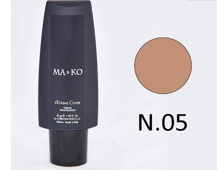 MAKO EXTREME COVER CREAM FOUNDATION N.05 w