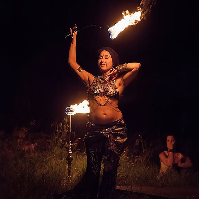 -Winnipeg Folk Festival Fire Show