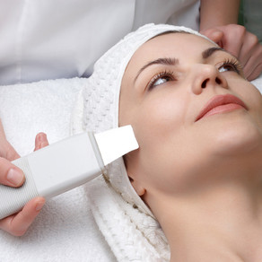 High level sound wav technology is used to penetrate deep below the skin surface and gently exfoliate away oil, dirt and debris from pores, removing dead skin cells and cleanse away toxins. A highly effective facial treatment that is good for all skin types. It can diminish fine lines and wrinkles over time,  promotes cellular renewal and repair, tighten and tone muscles of the chin and neck, stimulate blood circulation and aid in lymphatic drainage. Treatment includes custom facial and masque.