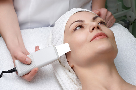 Ultrasonic Skin Scrubbing....