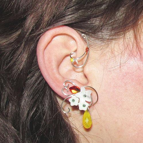 Cercel ear cuff Fire Whispers