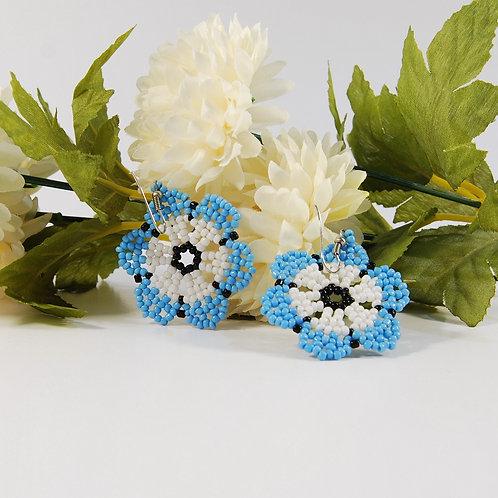 Cercei Huichol albastrii