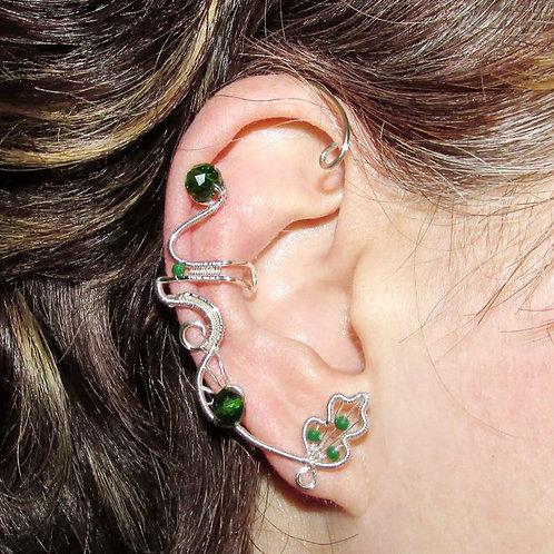 Cercel ear cuff Natura
