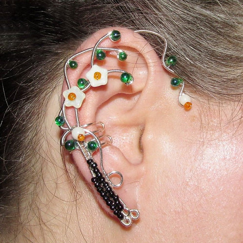 Cercel ear cuff Earth Elemental