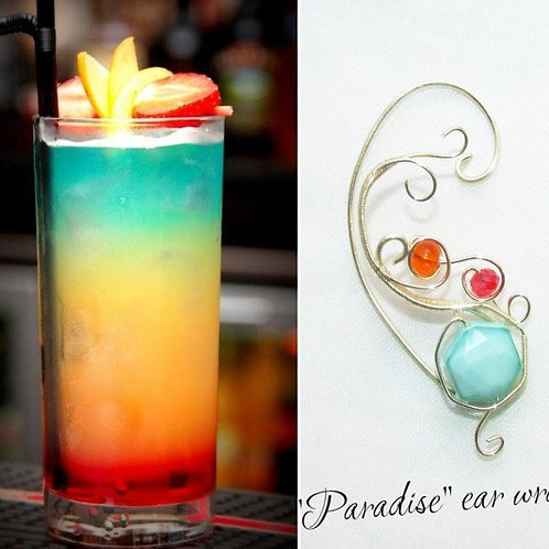 Cercel ear cuff Paradise Cocktail
