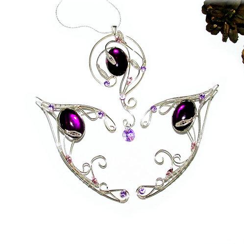 Set de bijuterii Violet Lake