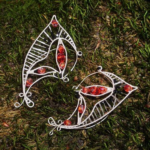Cercei Urechi de elf Butterfly Fairy