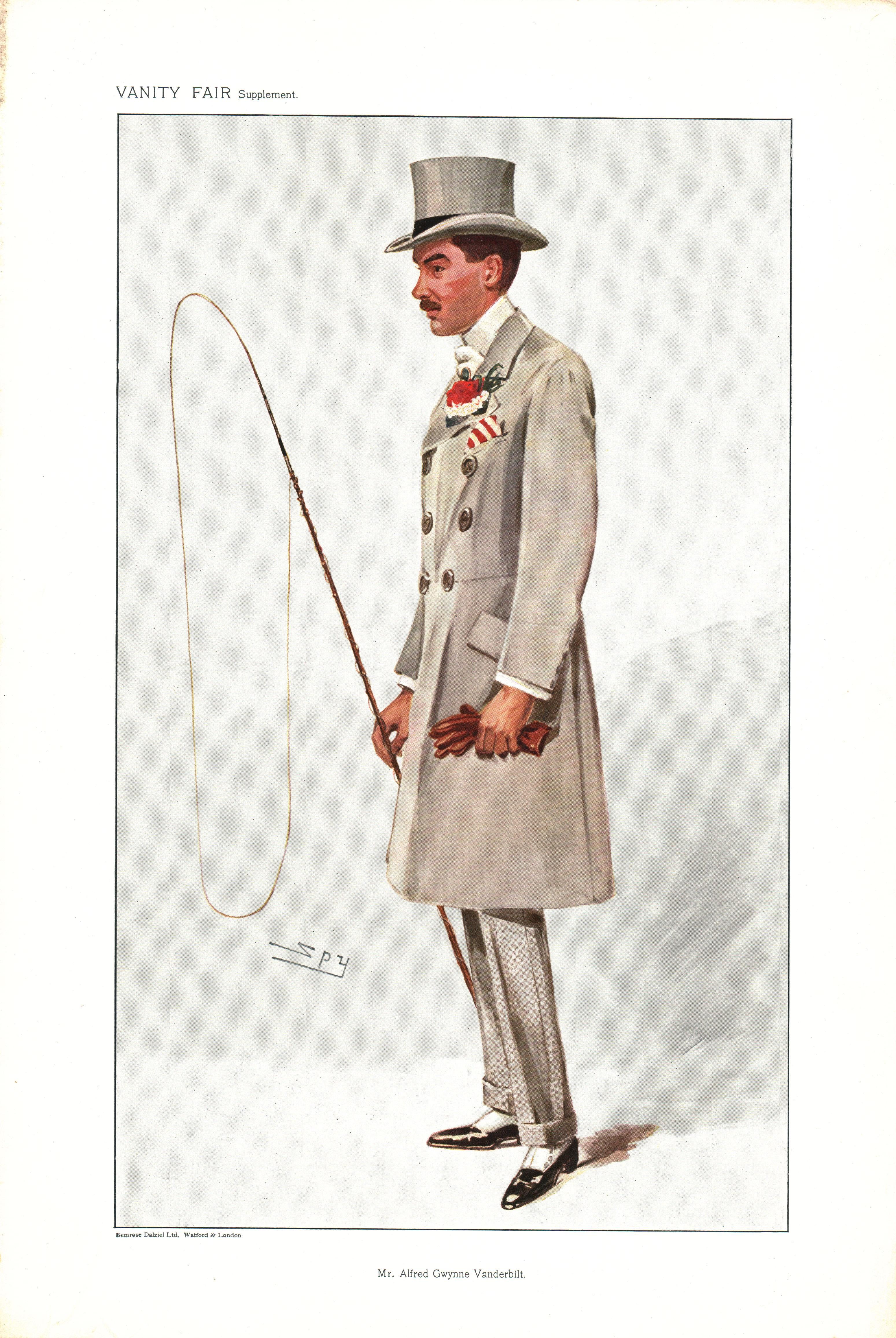 Mr. Alfred Gwynne Vanderbilt