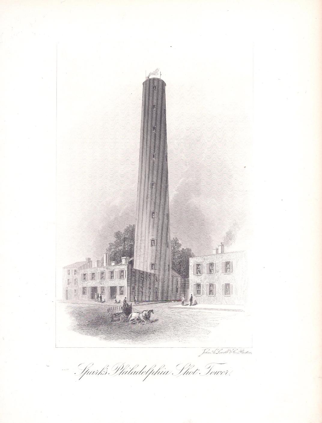 Sparks Philadelphia Shot Tower
