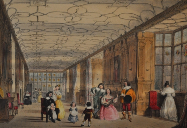 Long Gallery Haddon Hall, Derbyshire