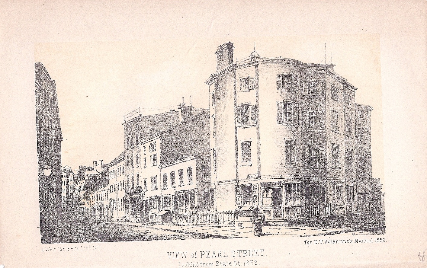 View of Pearl St