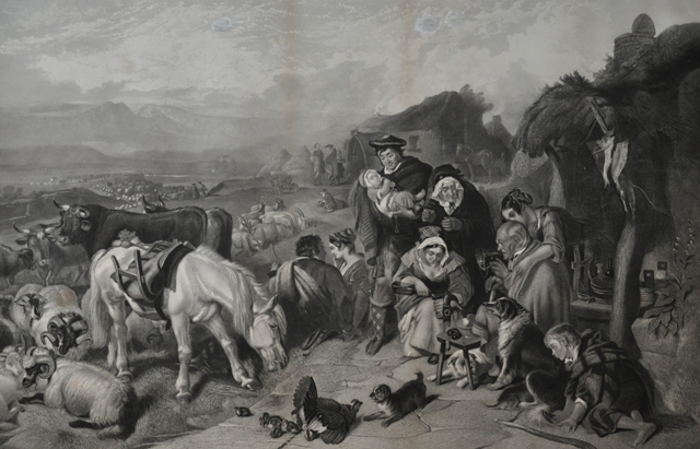 The Drovers' Departure