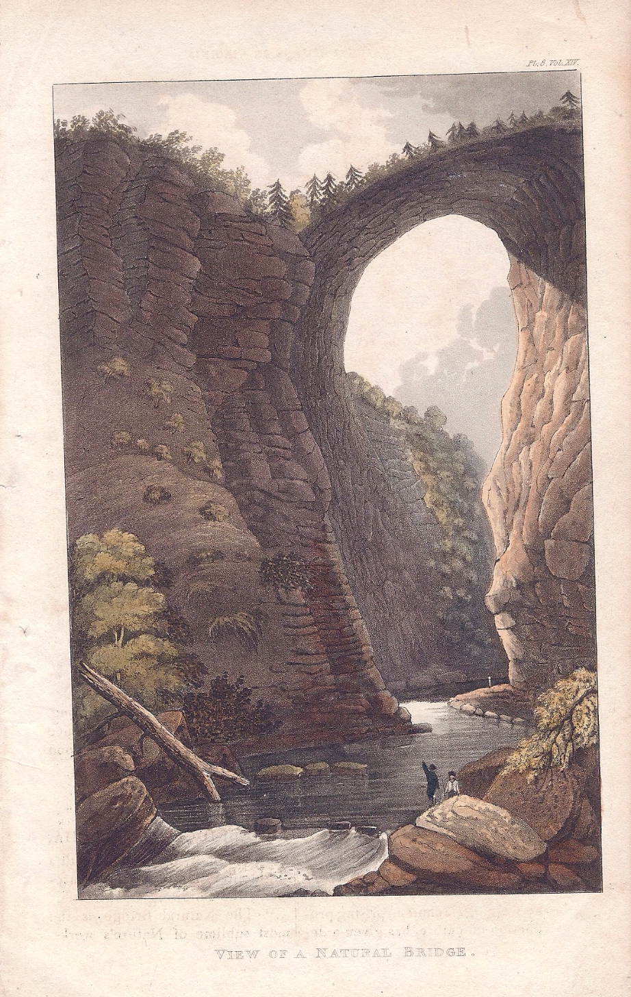 View of a Natural Bridge