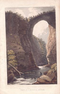View of a Natural Bridge