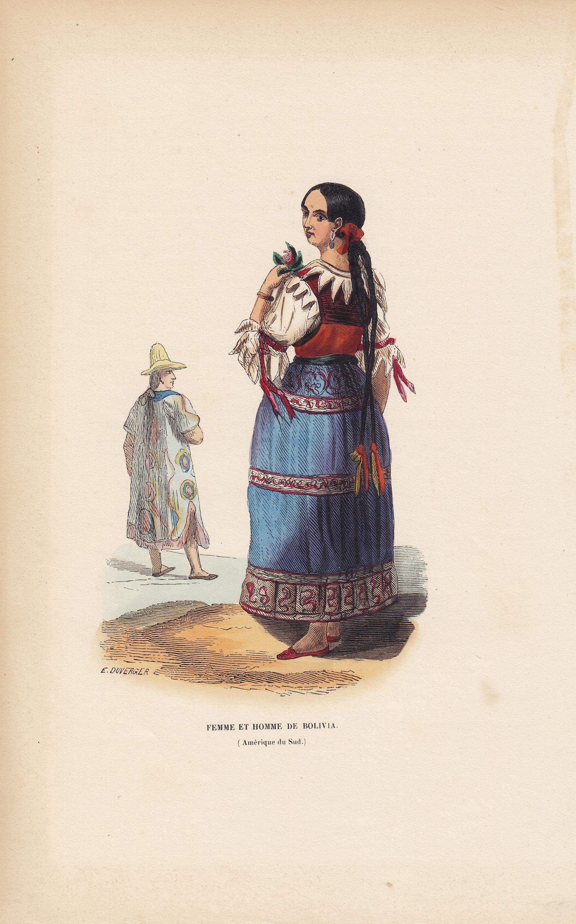 Femme et Homme de Bolivia