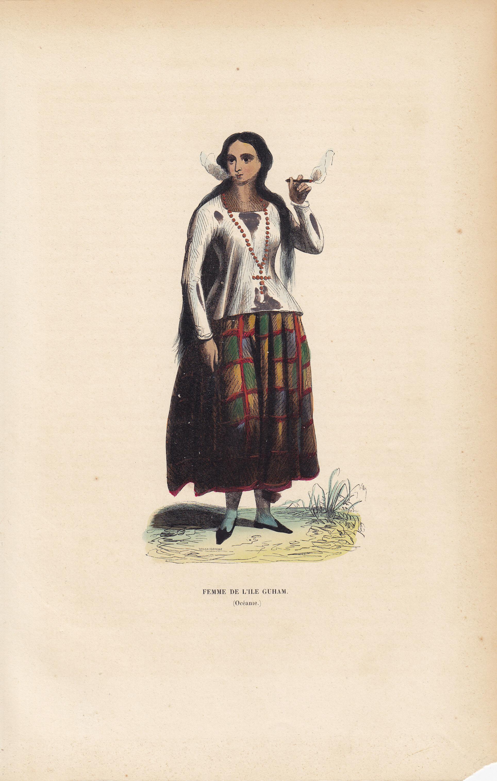 Femme De L'ile Guham