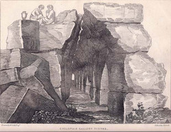 Cyclopean Gallery Tiryns