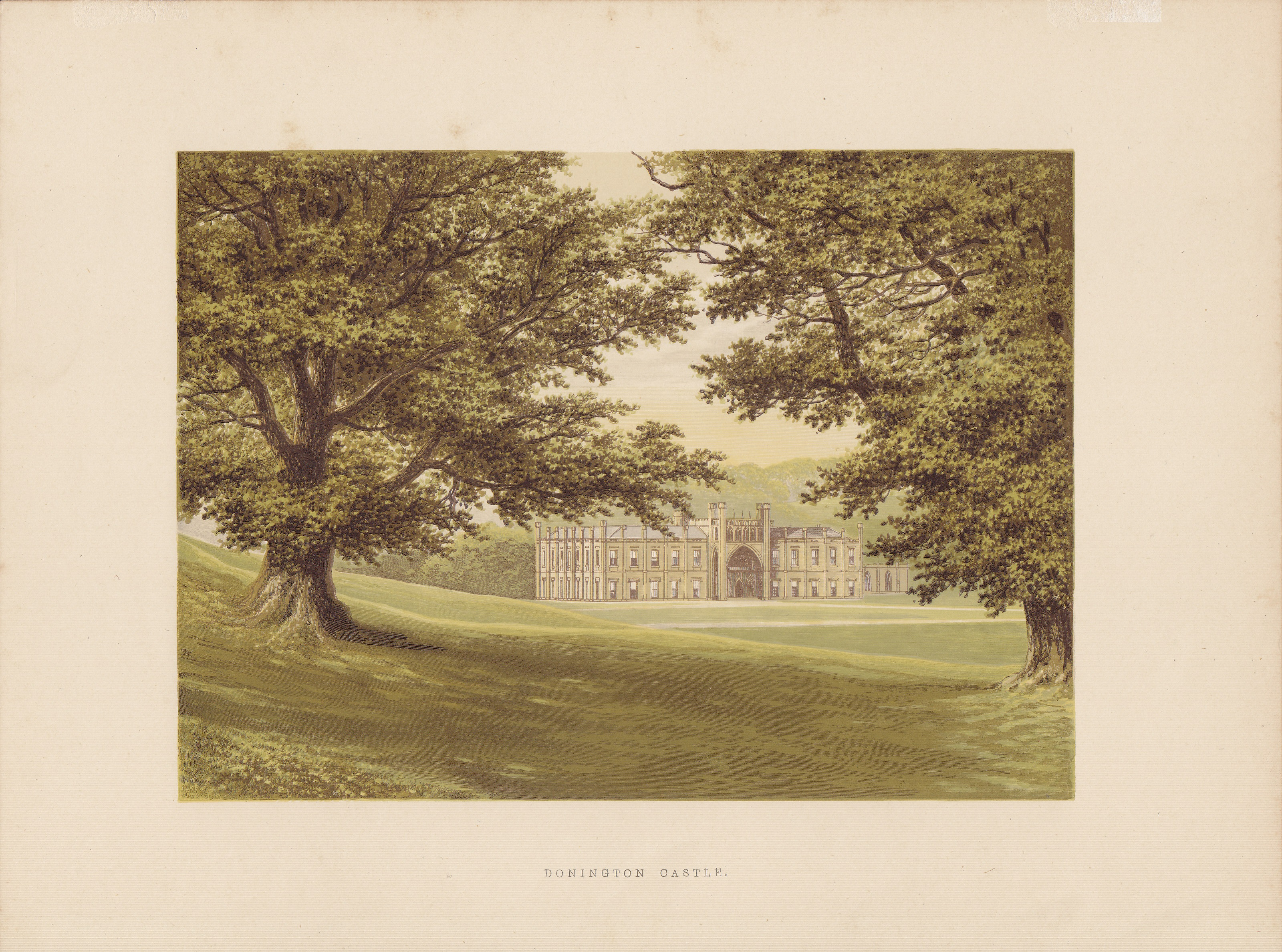 Donington Castle