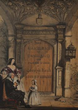 Doorway Combe, Abbey, Warwickshire