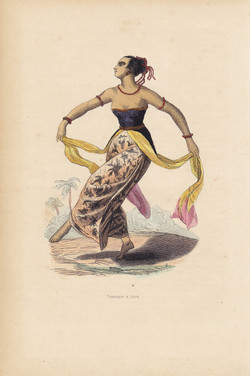 Danseuse a Java